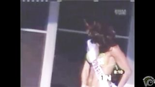 Miss beauty pageant lady nearly loses her bikini bottoms--_short_preview.mp4