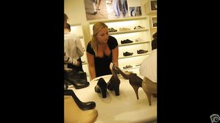 Luscious shop worker with big boob rearranges shoes--_short_preview.mp4