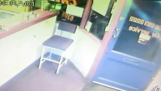 Blonde woman pisses right in front of the receptionist's desk--_short_preview.mp4