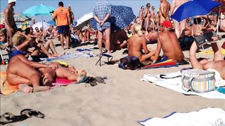 Kinky hidden cam moments at the Cap d'Agde beach while in vacation--_short_preview.mp4