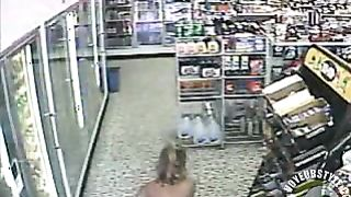 Bikini girl pisses on floor of convenience store--_short_preview.mp4