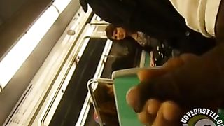 Jacking off my dick on the train--_short_preview.mp4