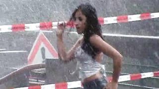 Stunning Latina babe has fun dancing in the rain--_short_preview.mp4