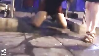 Drunken lass in a skirt makes water in public--_short_preview.mp4