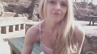 Stunning young beauty masturbates her pussy in the park--_short_preview.mp4