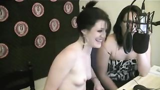 Cute girl gets topless on a radio show--_short_preview.mp4