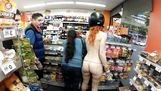 Naked ginger girl goes shopping at the gas station--_short_preview.mp4
