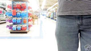 Skintight spandex pants on an amateur woman--_short_preview.mp4