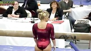Female gymnast with a powerful ass in a shiny leotard--_short_preview.mp4