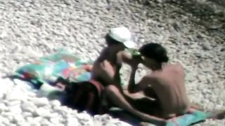 Loose slim babe rides on a throbbing pecker at the beach of Crimea--_short_preview.mp4