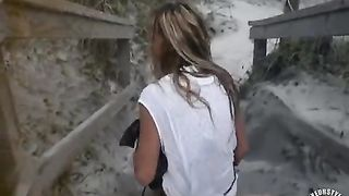 Lustful blonde soaks the sandy stairs--_short_preview.mp4