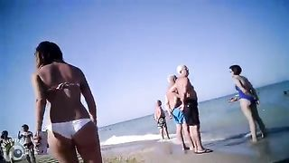 Firm ass beauty in a sexy white bikini bottom--_short_preview.mp4