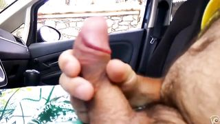 I enjoy wanking off my dick parked by the side of the road--_short_preview.mp4