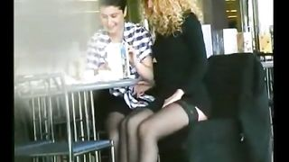 Upskirt flashing and lesbian foreplay in public--_short_preview.mp4