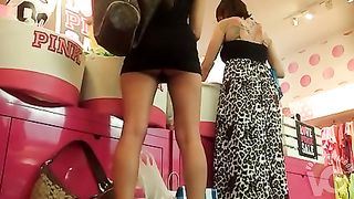 My girlfriend shops in short skirt and no panties underneath--_short_preview.mp4