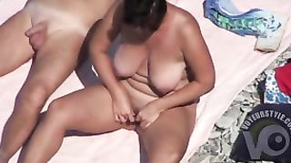 Curvy mature wife plays with his genitals--_short_preview.mp4