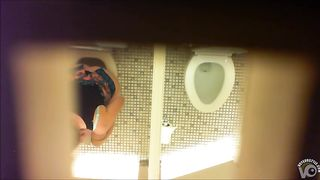 Sensual hotties caught urinating in a restroom--_short_preview.mp4