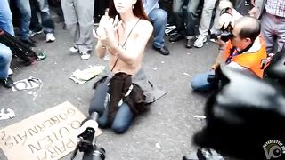 Topless goddess with great tits on a busy street--_short_preview.mp4