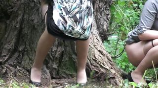 Beautiful Russian honeys get spied on while urinating in the park--_short_preview.mp4