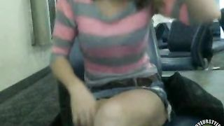 Prettiest babe plays with a snatch in public places--_short_preview.mp4