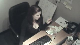 Busty business woman fucks a carrot at work--_short_preview.mp4