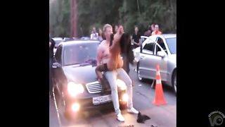 Lucky guy gets a sexy lap dance in the street--_short_preview.mp4