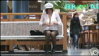 Busty babe unbuttons her blouse at the food court--_short_preview.mp4