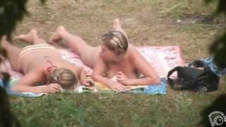 Topless women with curves spied on as they tan--_short_preview.mp4