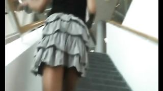 Sexy skirt on this upskirt tease babe--_short_preview.mp4