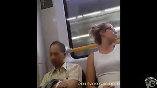 Beautiful girl upskirt on the train--_short_preview.mp4