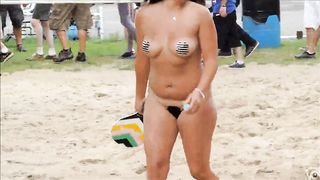 Pierced mature nudists show everything off at the resort--_short_preview.mp4