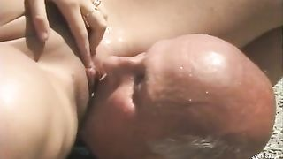 Teen girl pisses on an old daddy outdoors--_short_preview.mp4