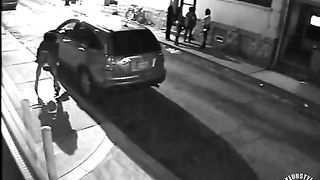 NYC prostitute hides behind a big car to relieve her bladder--_short_preview.mp4
