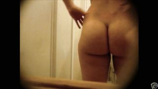 Seductive honey unveils her body before taking a shower--_short_preview.mp4