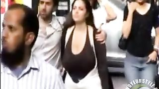 Braless girlfriend walking down the street and being filmed--_short_preview.mp4
