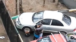 Dirty hooker gets nailed while hiding between two cars--_short_preview.mp4