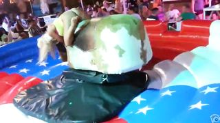 Bimbos in panties ride the mechanical bull together--_short_preview.mp4