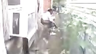 Ebony hooker gets caught on tape peeing behind a house--_short_preview.mp4
