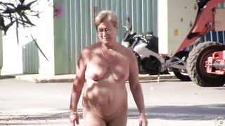 Mature woman enjoys walking around completely naked--_short_preview.mp4