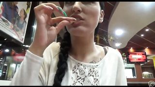 Naughty girl eats his jizz off her fries--_short_preview.mp4