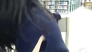 Asian nymph satisfies desires of her pussy in the library--_short_preview.mp4