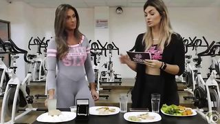Two stunning ladies expose their tight clothes live on TV--_short_preview.mp4