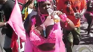 Big-breasted Brazilian scantily clad at a parade--_short_preview.mp4
