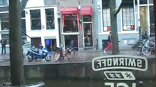 Amsterdam prostitutes tease in the windows--_short_preview.mp4