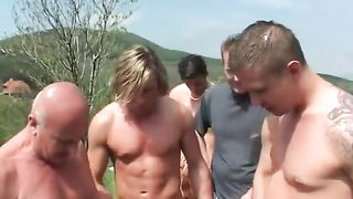 Two girls pissed on in big outdoor scene--_short_preview.mp4