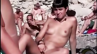 Nudist beauty caresses her hairy beaver--_short_preview.mp4