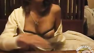 Spouses gladly flash their large breasts at restaurants--_short_preview.mp4
