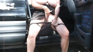 British BBW flicks her clit in the car--_short_preview.mp4