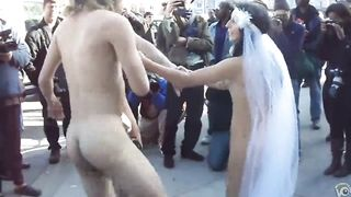 Naughty married couple dances naked with their friend in public--_short_preview.mp4