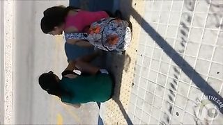 Wanking to two sporty teens at the bus stop--_short_preview.mp4